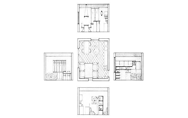 aménagement intérieur logement Varese overgreen
