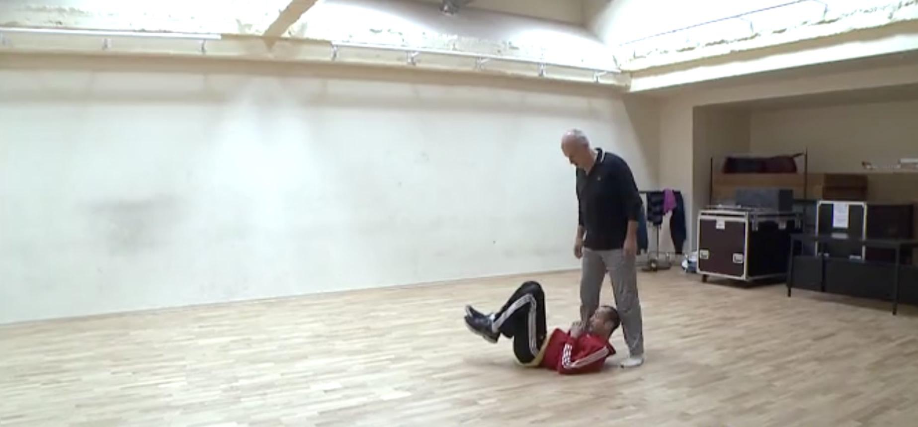 danse répétition