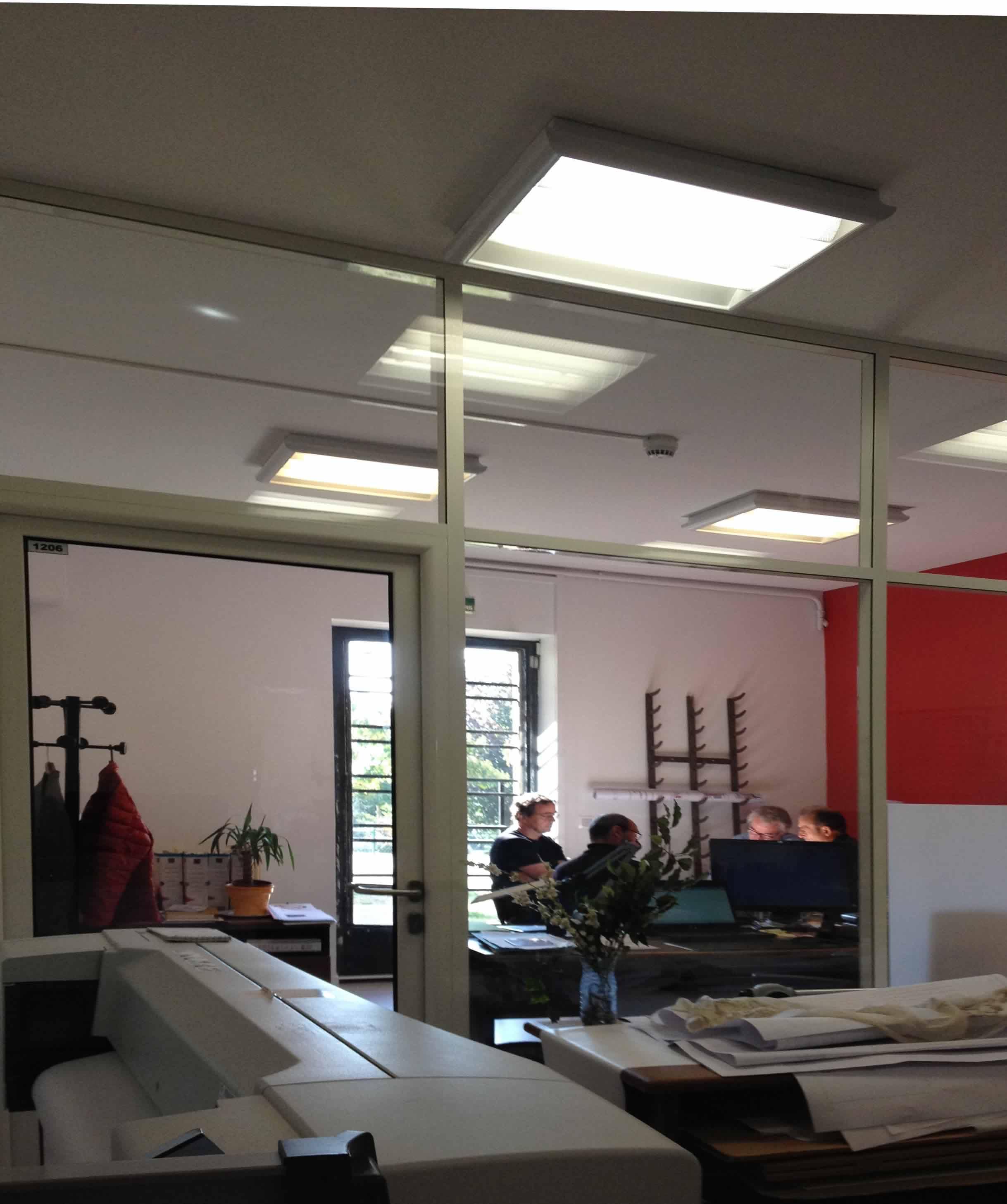projet aménagement bureaux