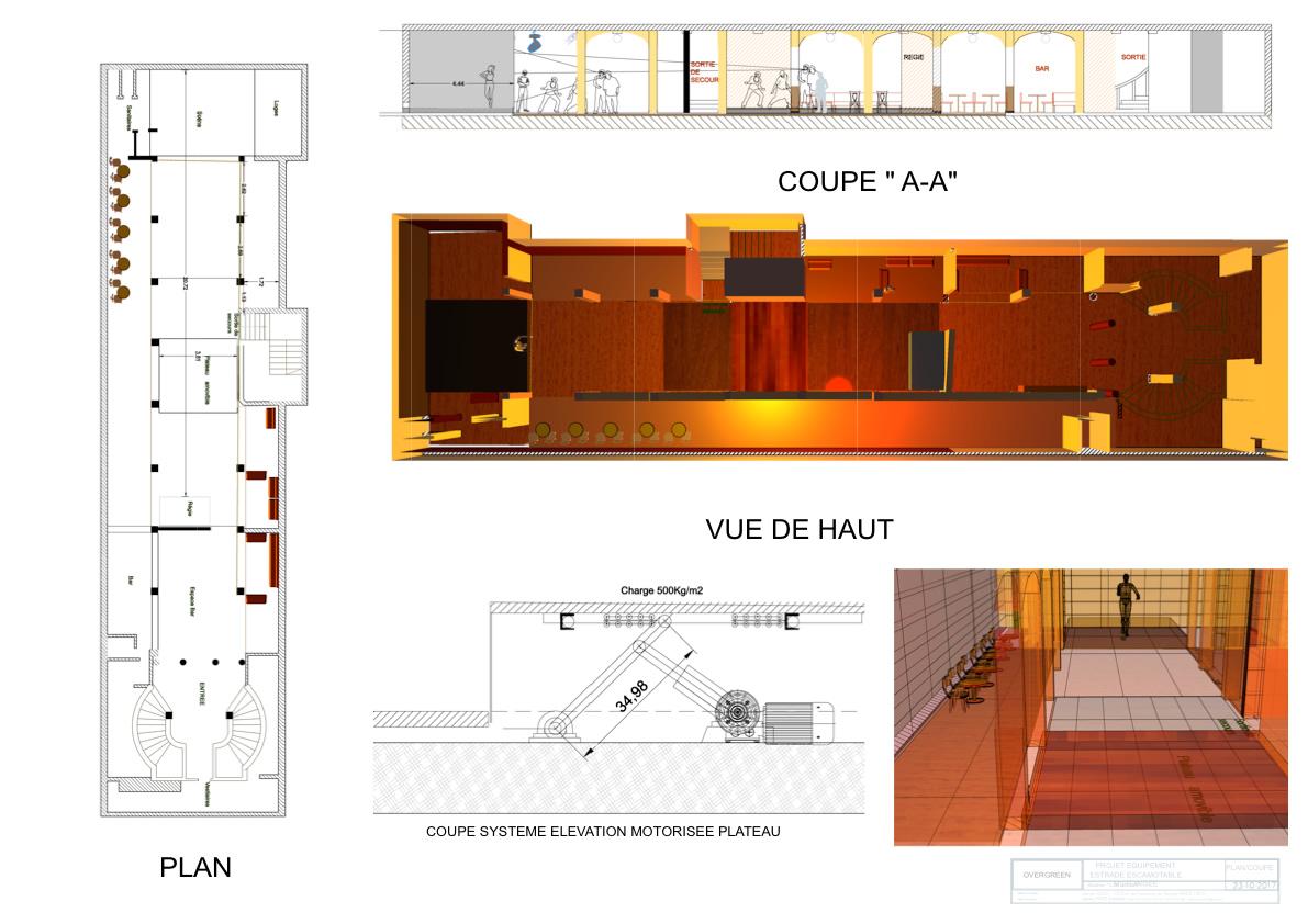 architecture paris club