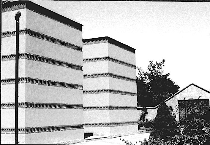 Cimetière Barasso architecture