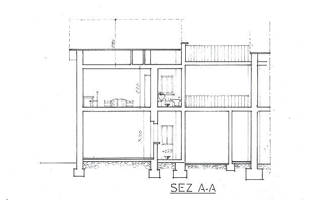 plan de coupe architecture maison