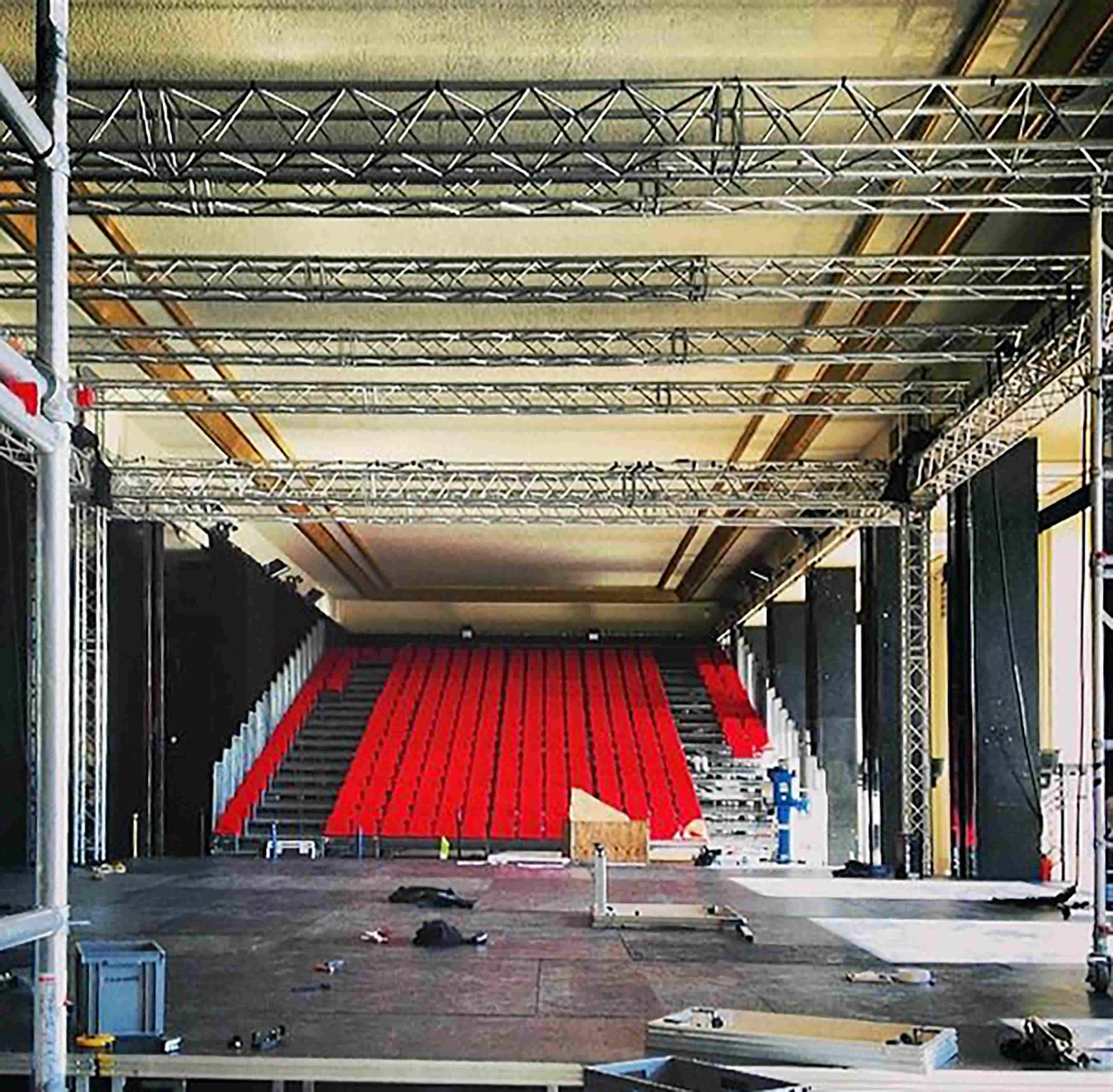 installation scénique salle théâtre