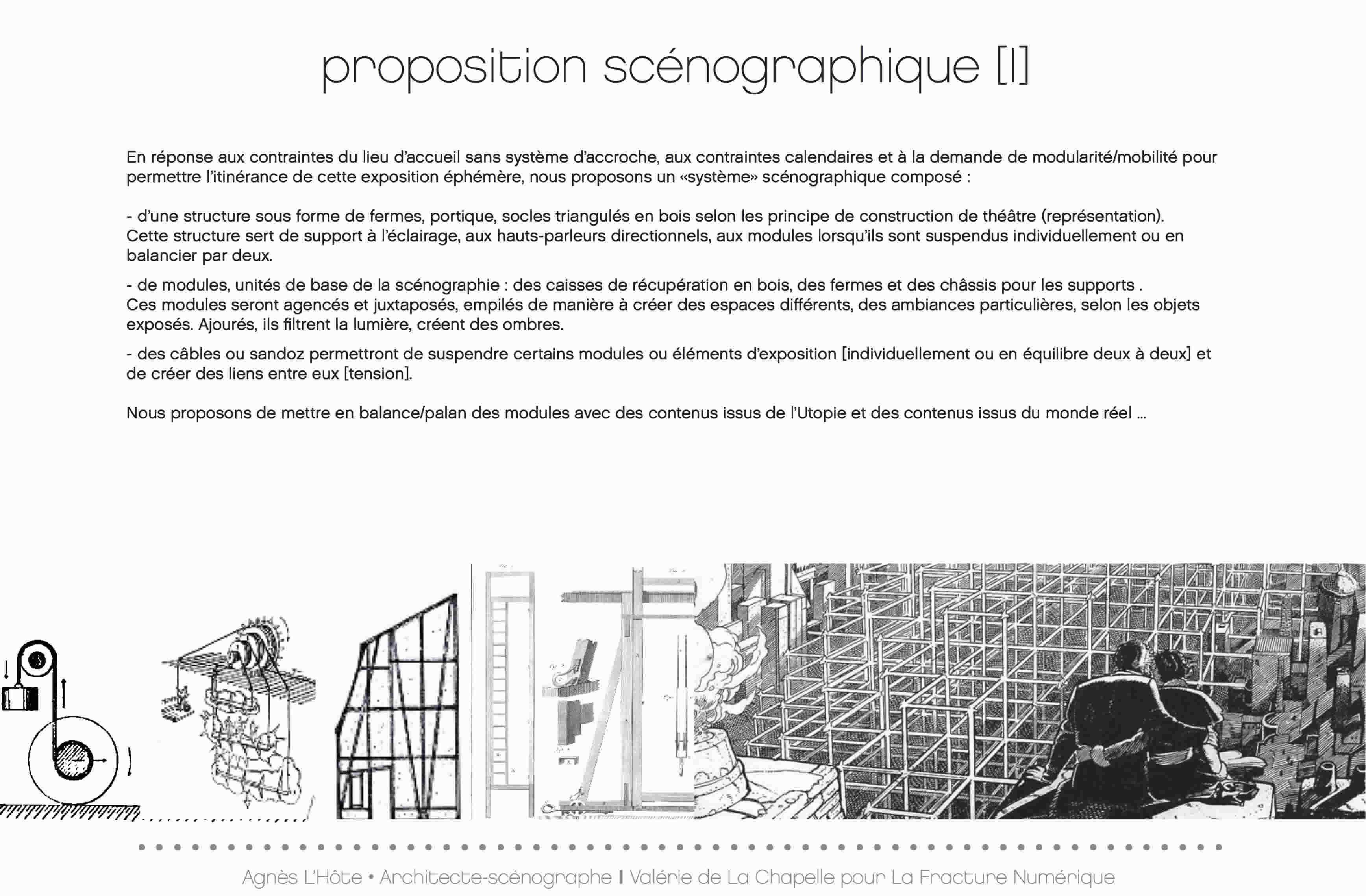 scénographie exposition paris