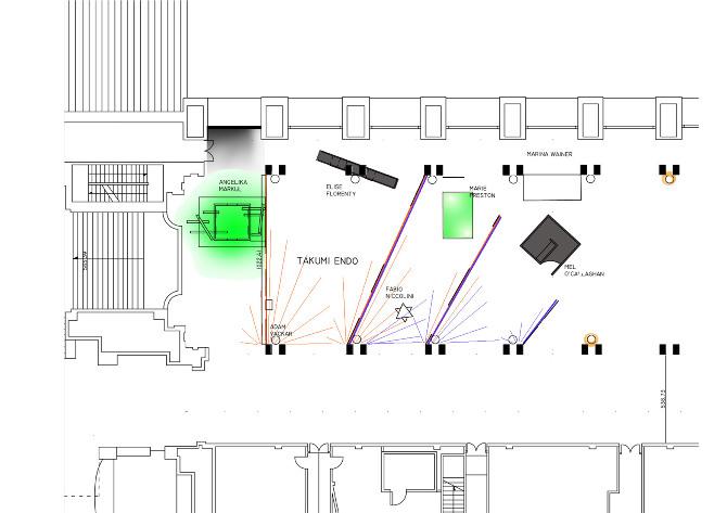 plan lumière exposition no tatami spot