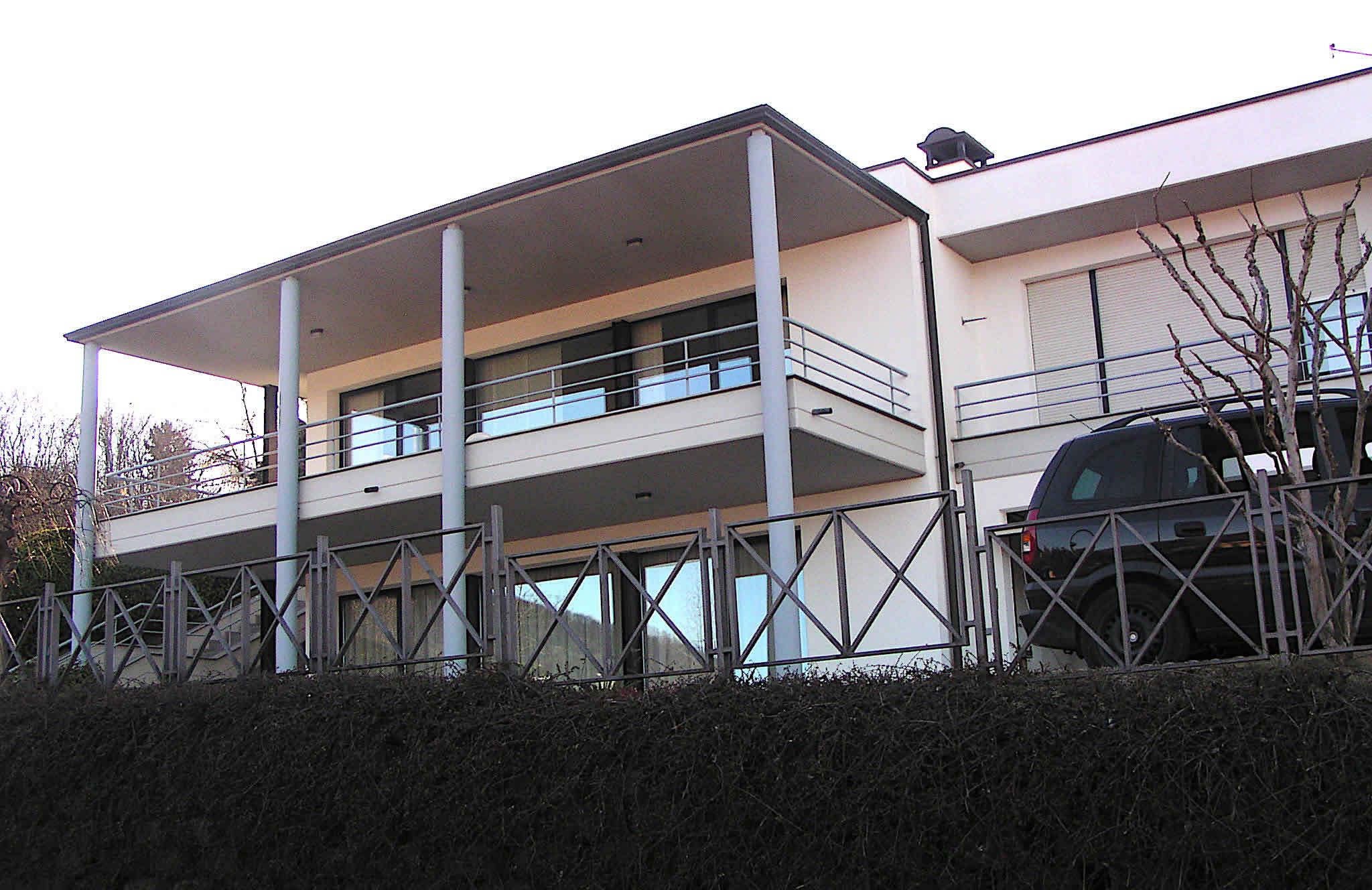 vue extérieure villa architecture overgreen