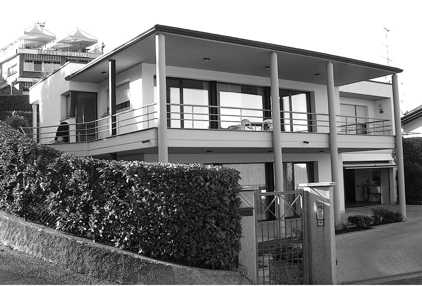 façade villa architecture overgreen