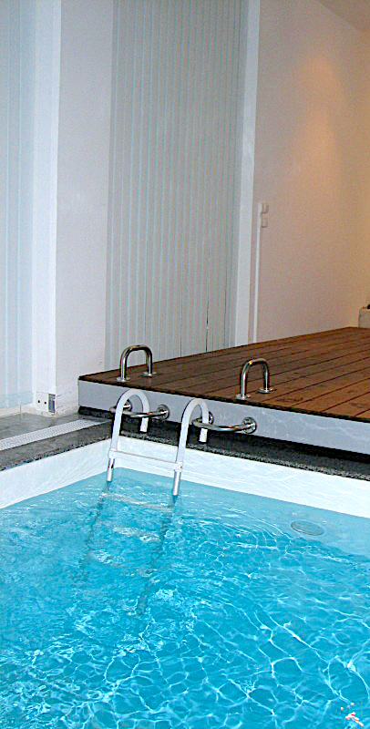 Installation piscine maison individuelle Liard