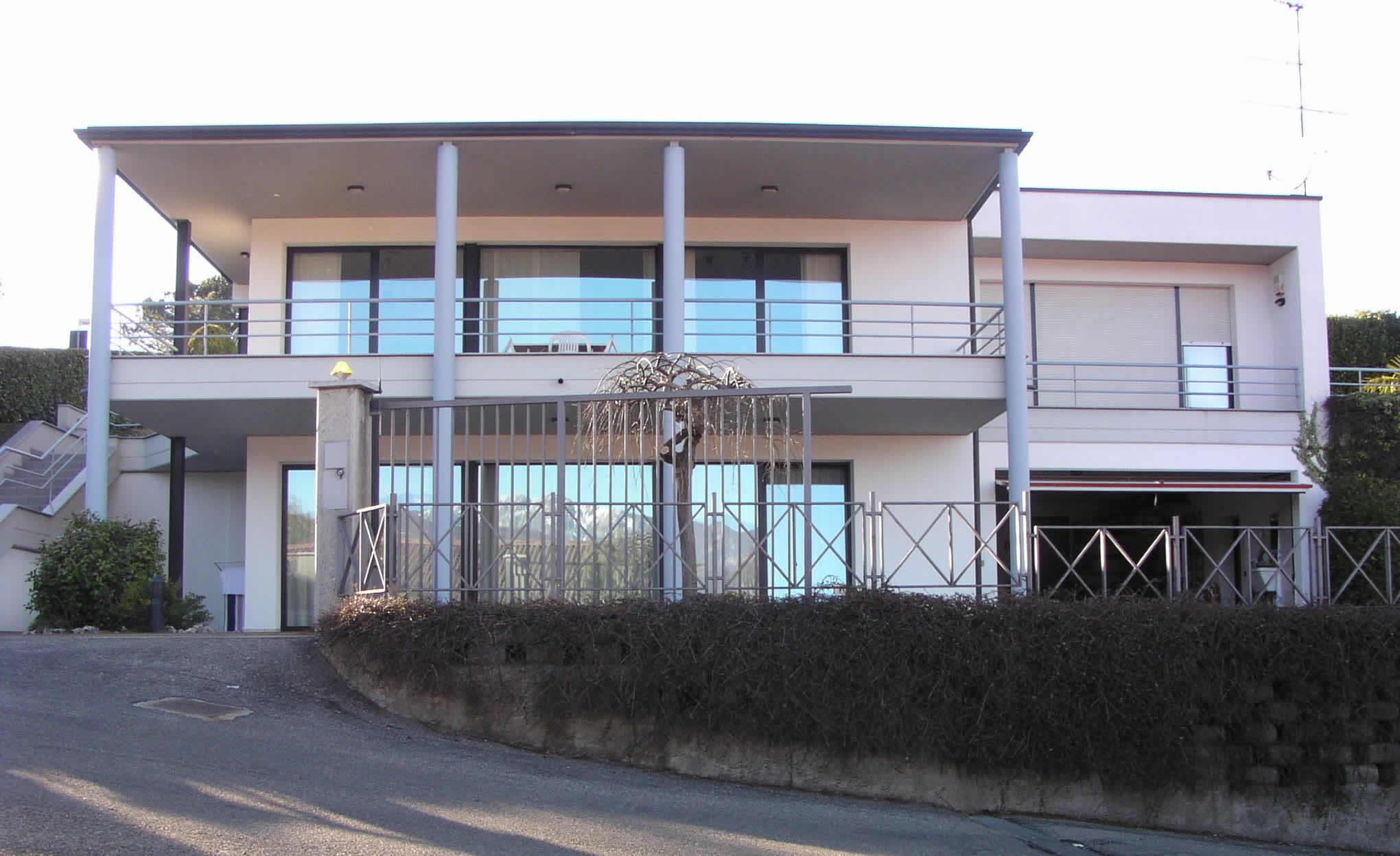 villa ponte tresa architecture overgreen