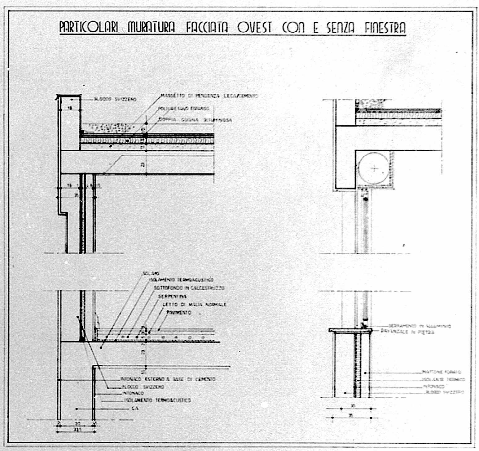 Plan implantation fenêtre villa